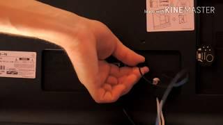 Smart TV LG 28MT49S - análise conexões e saídas de áudio