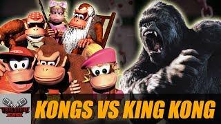 Kongs VS King Kong | DEATH BATTLE Cast thumbnail