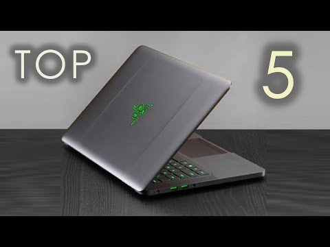 Top 5 Gaming Laptops (2017)