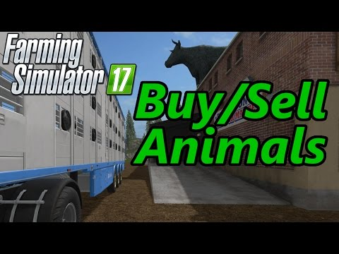 Farming Simulator 17 Tutorial | Buying & Selling Animals
