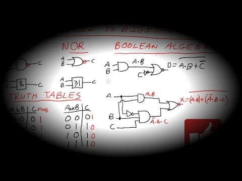 EEVblog #981 (EEVacademy #1)  - Introduction To Digital Logic