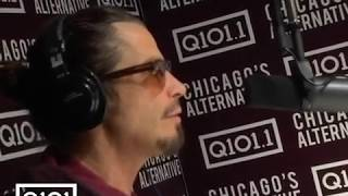 Chris Cornell Last Interview @ Q101 Talks Soundgarden, singing and family life!