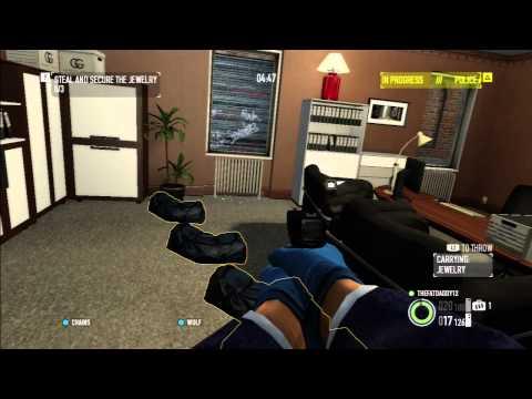 Payday 2 PS3 Gameplay - Jewelry Store Heist