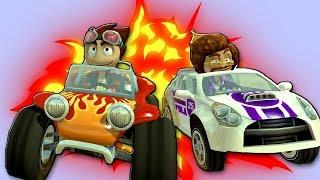 ГОНКИ НА ТАЧКАХ Beach Buggy Racing #1 Игровой мультик про машины для детей