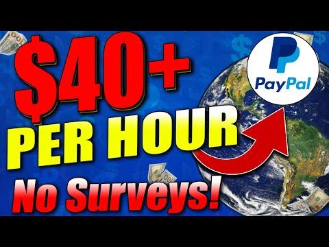 Make $40+ Per Hour WITHOUT Surveys | WORLDWIDE (Earn Money Online 2020)