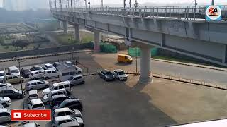 Magenta line full driver less metro , Delhi metro | Kalkaji metro station | Botanical garden Metro