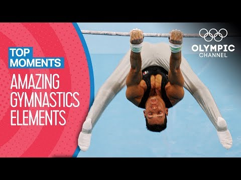 Amazing Original Gymnastics Elements at the Olympic Games! | Top Moments