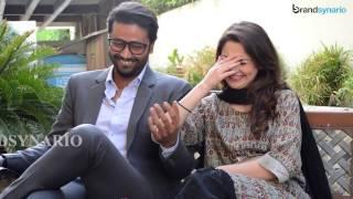 Hania &Ali Abbas's Fun BTS Video
