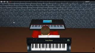 Korobeiniki/Tetris Thema A von: Nikolay Nekrasov auf einem ROBLOX Klavier.