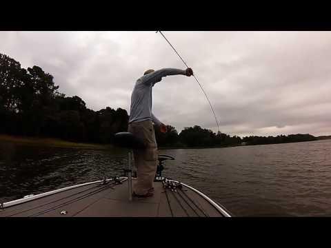 Lake Palestine, Texas Bass Fishing October, 2016