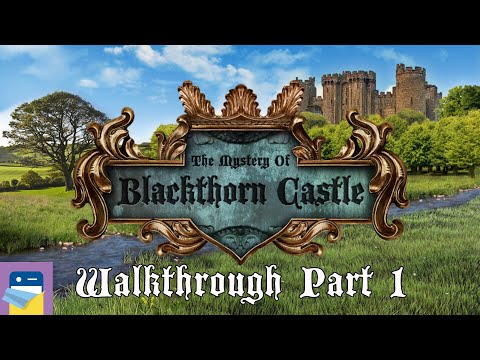 The Mystery of Blackthorn Castle: Walkthrough Part 1 & iOS iPhone 5 Gameplay
