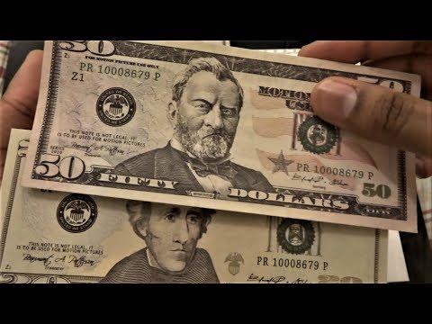 $7,000 Prop Movie Money ($50s & $20s) Unboxing & Review