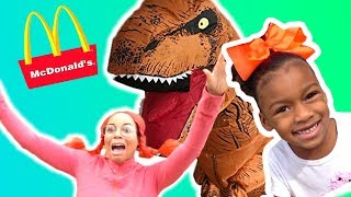 McDonald's Prank Bully Steals Pretend Play Food
