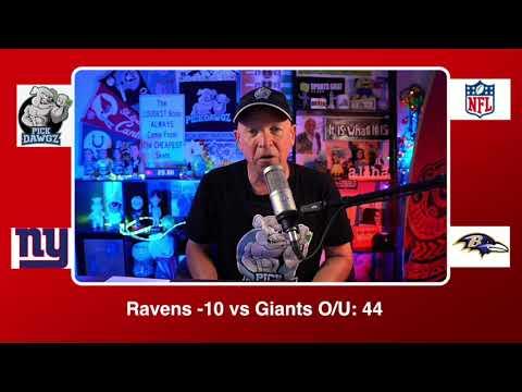 Baltimore Ravens vs New York Giants 12/27/20 NFL Pick and Prediction Sunday Week 16 NFL