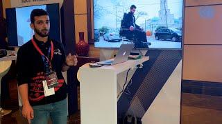 طالب فلسطيني يخترع كرسيا متحركا ذكيا