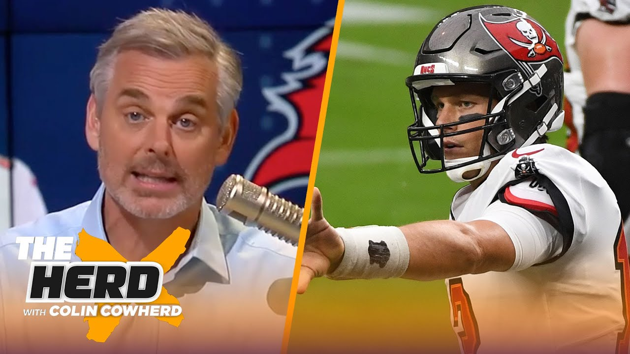 Brady is transforming the Bucs franchise, talks Seattle loss vs. Arizona — Colin | NFL | THE HERD - download from YouTube for free