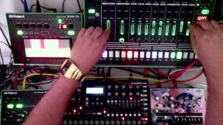 Roland TR8 TB3 VT3 + Elektron A4 + Korg Monotribe - ELECTRO by Honeysmack