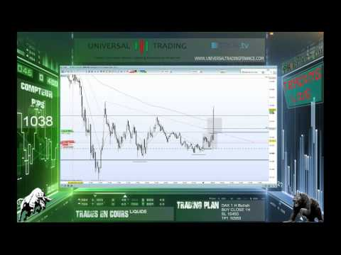 Hot Trade Live DAX MARKET OPEN 26 08 Universal Trading Live