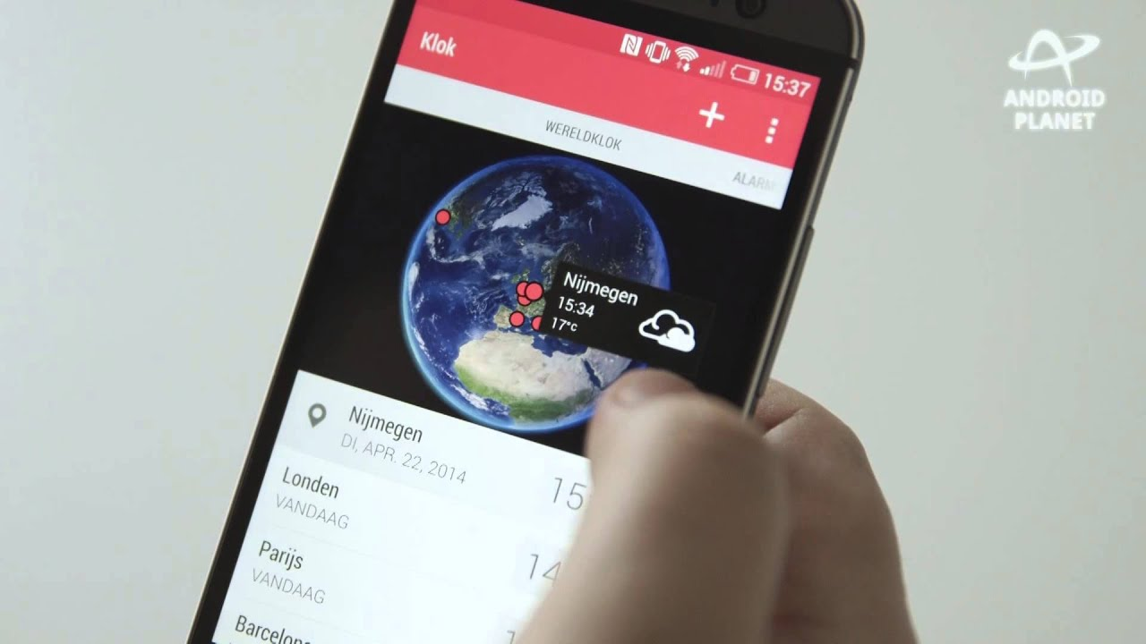 HTC One M8 video review (Dutch) - AndroidPlanet.nl
