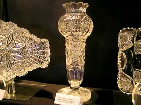 American Brilliant Cut Glass At Round Top Texas Fall 2015