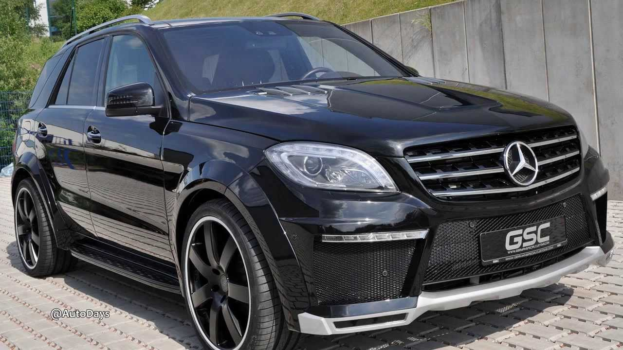 german special mercedes benz ml class customs wide body kit youtube. Black Bedroom Furniture Sets. Home Design Ideas