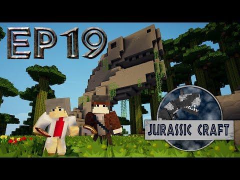 SE02EP19 Jurassic Craft - Le Smilodon et le Mammouth.