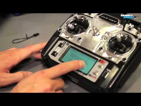 FlySky FS-T6 2.4ghz 6 Channel Transmitter Installation Guide