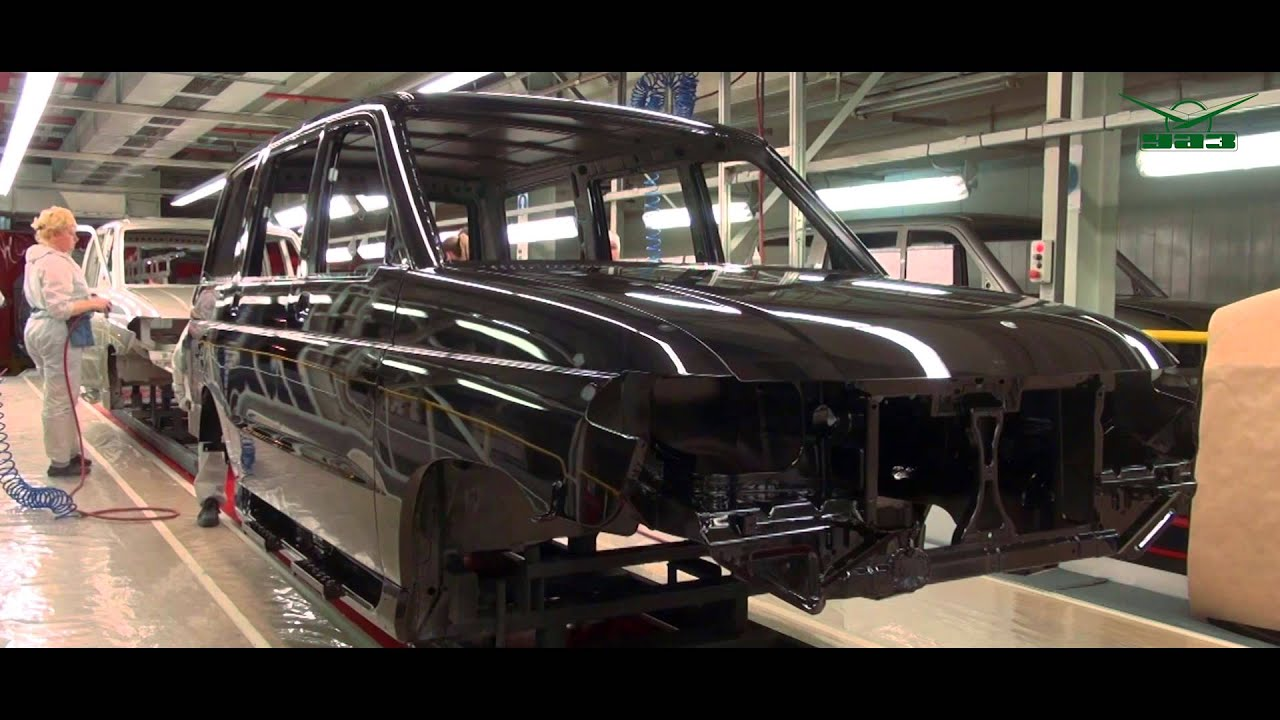 Процесс производства УАЗ Патриот