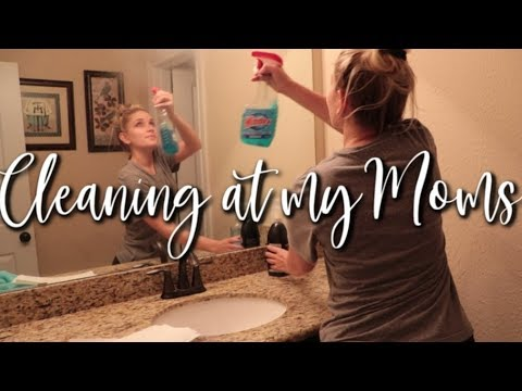 CLEANING AT MY MAMA'S HOUSE | CLEANING MOTIVATION | GYPSY HOUSE WIFE CLEANING from YouTube · Duration:  17 minutes 39 seconds