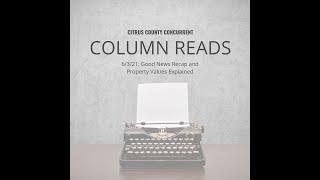Column Read   June 3, 2021