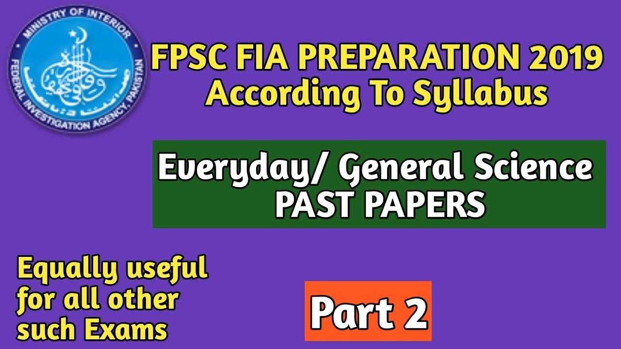 FPSC Preparation t