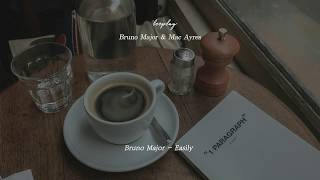 작은 카페에서 Bruno Major와 Mac Ayres를 주문했다 l Bruno Major X Mac Ayres Playlist