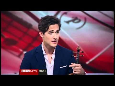 Charlie Siem on BBC Breakfast