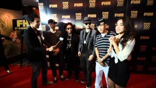 FHM 100 sexiest award with Thaitanium and Southside