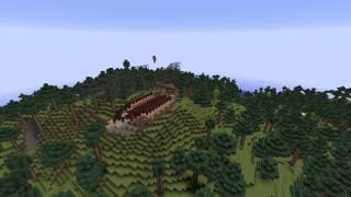 Minecraft Timelapse - Zeppelin build + Download