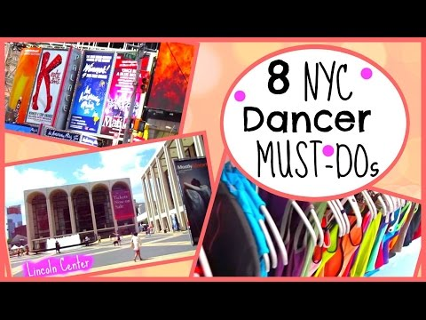8 NYC Dancer Must-Dos | Kathryn Morgan