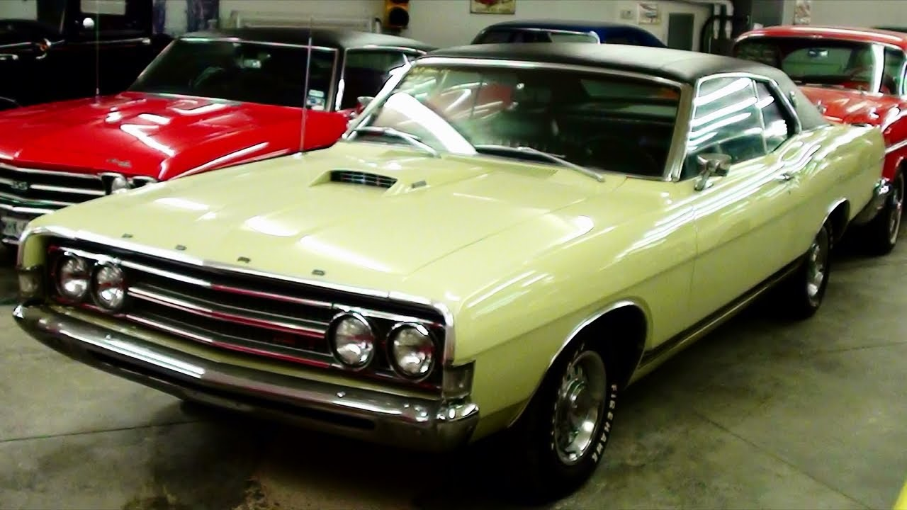 1969 Ford Torino GT 390 FE Four-Speed Muscle Car - YouTube