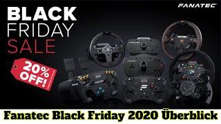Fanatec Black Friday Deąls 2020 overview [CC english]