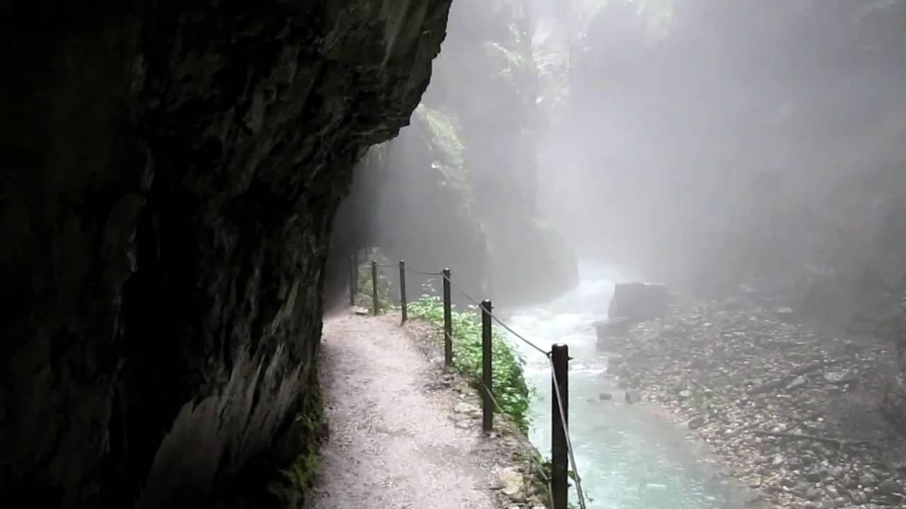 Partnachklamm gorge in garmisch partenkirchen live webcam