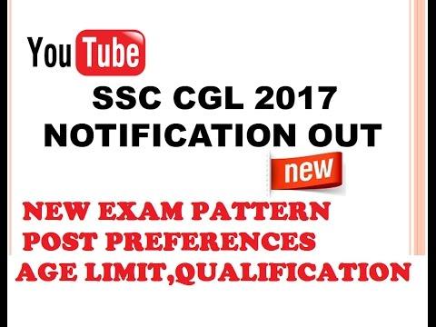 [HINDI]  SSC CGL 2017 STRATEGY , NEW EXAM PATTERN , POST PREFERENCE,AGE LIMIT