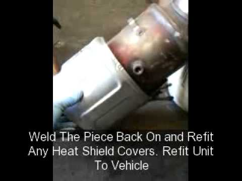 6 5 Diesel Engine Wiring Diagram How To Remove Dpf Youtube