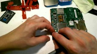 How to Fix Replace LCD Screen Display on Nintendo 2DS - Disassembly + Reassembly - TekBotic