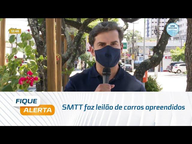 SMTT faz leilão de carros apreendidos