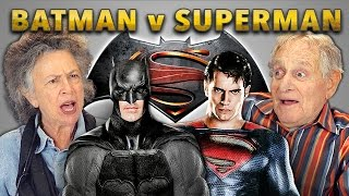 ELDERS REACT TO BATMAN v SUPERMAN TRAILER