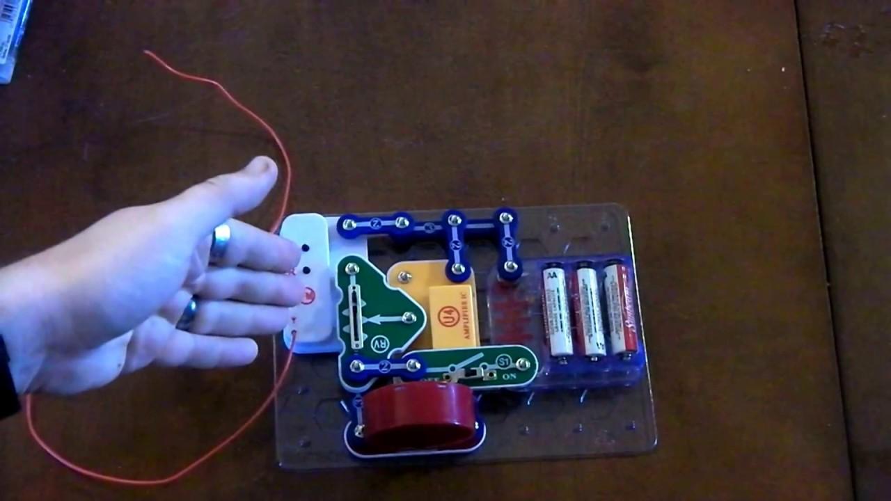 snap circuits fm radio instructions