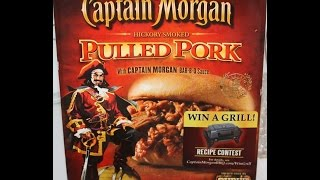 Captain Morgan: Hickory Pulled Pork Review