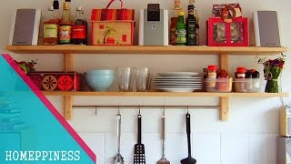 NEW DESIGN 2017   25+ Latest Kitchen Shelves Ideas That You May Have Never Seen Before