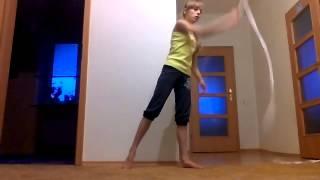 Мой типо гимнастический танец(Художественная гимнастика с гимнастической ленточкой:-):-):-), 2014-08-23T08:19:11.000Z)