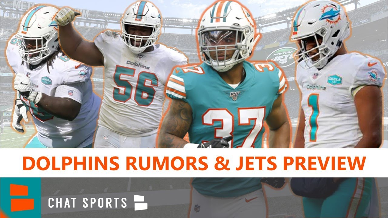 Miami Dolphins News On Tua Benched, Myles Gaskin, O-Line, Davon Godchaux Injuries & Jets Preview