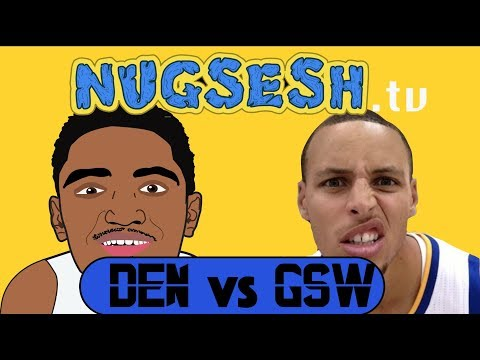 Denver Nuggets vs Golden State Warriors | NugSesh Animated Game Review #4